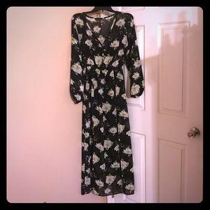 Floral Sheer Dress